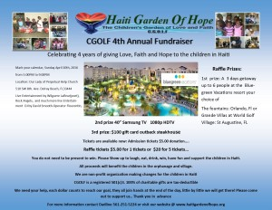 4th annual event flyer
