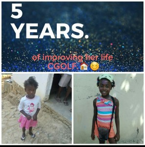girld 5th annivesary improving