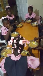 mission trip march 2017 girls school breafast