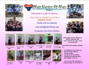 2017 2018 new school flyes donation haiti final