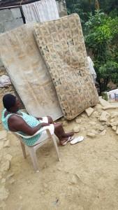 june 2017 haiti old matress